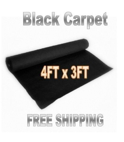 Speaker Carpet - 3ft x 4ft BLACK DJ CAR SUB SPEAKER BOX CARPET TRUNK LINER, Model: , Electro Shop
