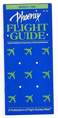 Phoenix Arizona Flight Guide March 1989 Sky Harbor International - Phoenix Sky Arizona In Harbor Airport