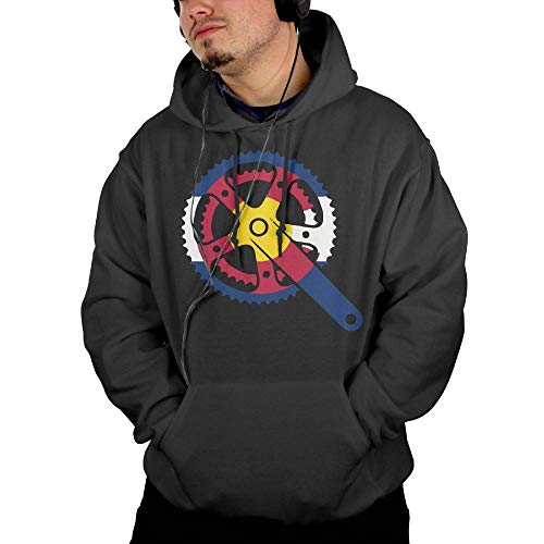 Colorado Crank Men's Hoody New\r\n Sportswear with Kanga -