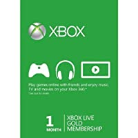 Xbox LIVE Gold 1-Month Membership Card (Xbox 360) by Microsoft