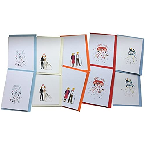 Wedding Cards Wedding Getting Married Wedding Anniversary Greeting Cards from GayaCards, Multipack, For a Very Sales