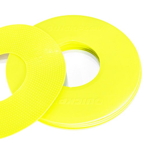 (QuickPlay PRO Quick-Pick Flat Markers - Yellow)