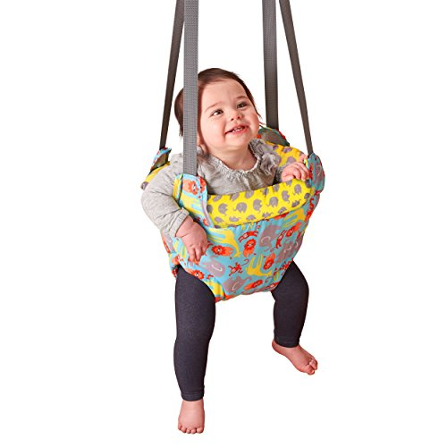 Evenflo ExerSaucer Doorway Jumper, Safari Trek