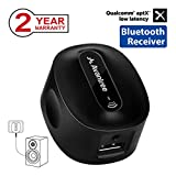 Avantree aptX Low Latency Bluetooth Receiver for Home Stereo with Plug, Speaker System