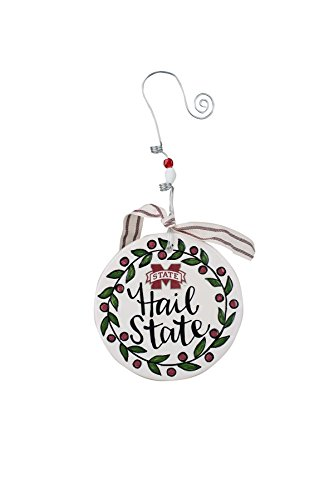 Bulldogs Ornament State Holiday Mississippi (Glory Haus Mississippi State Flat Ornament, Multicolor)