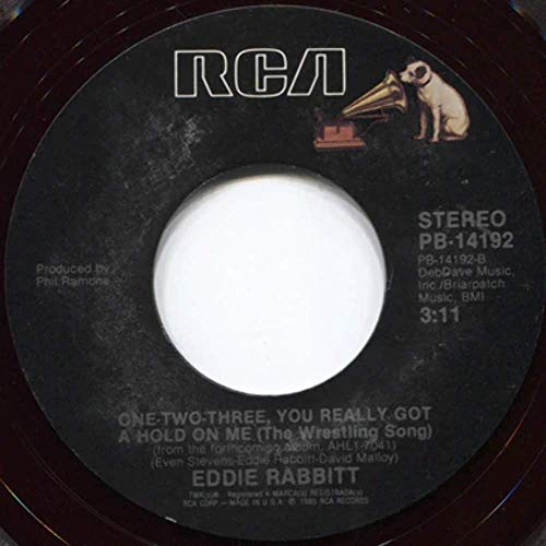 Eddie Rabbitt: A World Without Love/One-Two-Three You Really Got a Hold on Me (The Wrestling Song) - 7