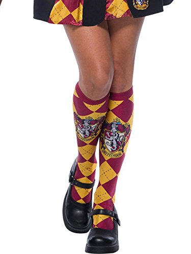 America Deluxe Wizard Dress - Rubie's Adult Harry Potter Socks, Gryffindor