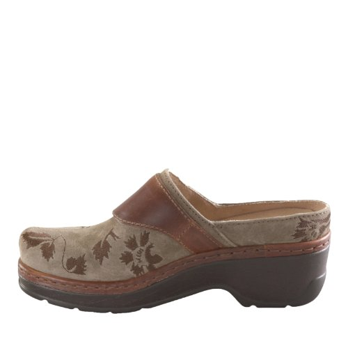 sale sneakernews cheap pictures Klogs USA Women's Austin Clog Taupe Suede Tapestry under $60 cheap online TEXo2