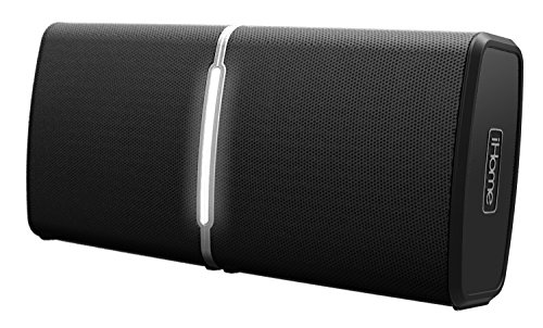 iHome iBT11BC Portable Surround Sound Bluetooth Stereo Speaker System with Charging Cradle by iHome