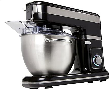 Robot de cocina 4,5liter, 1000 W de potencia, Profi – Amasadora con Planet Engranaje Negro: Amazon.es: Hogar