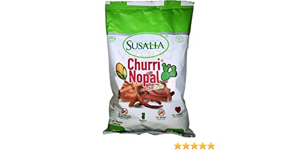 Baked Hot & Spicy corn and cactus Churrinopal Big Bag 7oz: Amazon.com: Grocery & Gourmet Food