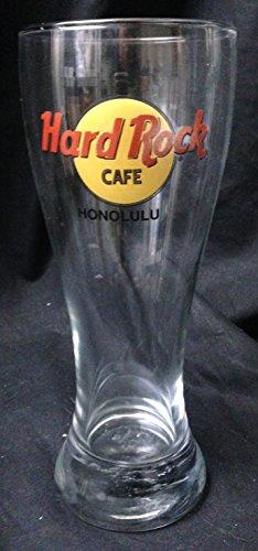 Hard Rock Cafe '' Honolulu '' Pilsner Hurricane Glass - 9 1/4'' by Hard Rock Cafe