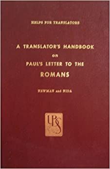 a translators handbook on pauls letter to the romans