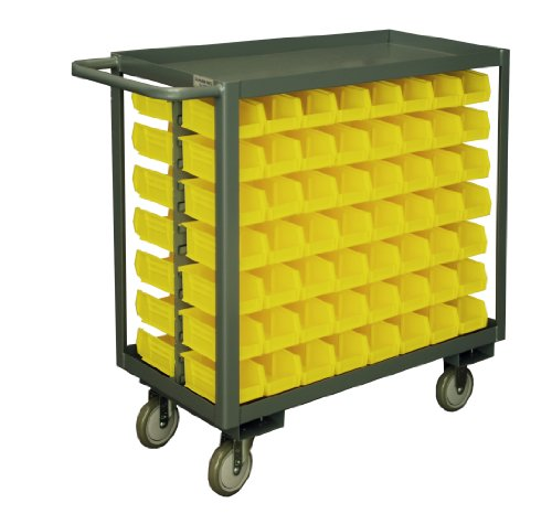 Durham-14-Gauge-Steel-Bin-Service-Cart-with-112-Bins-RSC-1836-BLP-112-210-95-1200-lbs-Capacity
