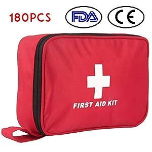 Botiquín de Primeros Auxilios de 180 Piezas WEINAS® Kit de Primeros Auxilios Súper Compacto y Profesional para Hogar… 7