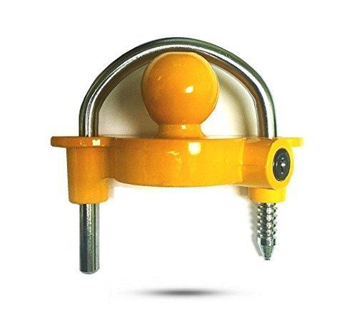 Universal Steel Coupler Lock ()