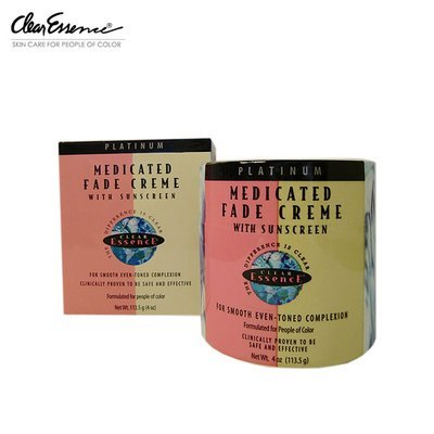 Clear Essence Platinum Line Medicated Fade Creme, 4 Ounce ()