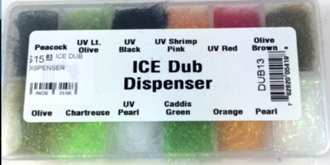 (Hareline Fly Tying Ice Dub Dubbing Dispenser)