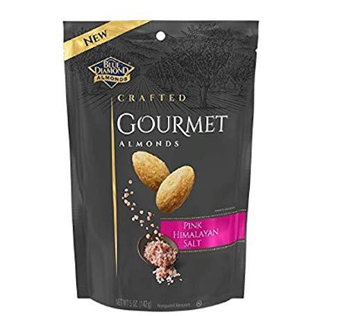 Blue Diamond Almonds, Gourmet Pink Himalayan Salt, 5 Ounces