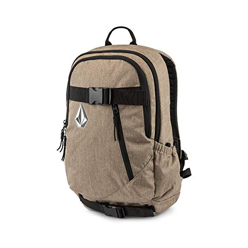 (Volcom Young Men's Substrate Backpack Accessory, sand brown ONE SIZE FITS ALL)