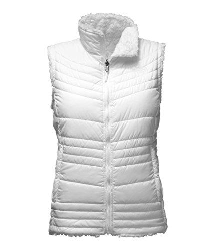 The North Face Women's Mossbud Swirl Vest - TNF White - S (Past Season) (North Face White Vest)