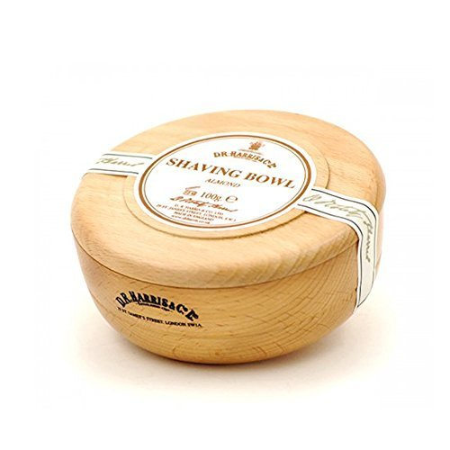 Shaving Soap in Beech Bowl Almond by DR Harris & Co by D R Harris