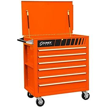 Amazon.com: Sunex 8057 carro de cofre completo con cajones ...