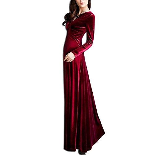 Langes langarm kleid