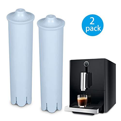 Rhodesy Cartucho Filtro para Jura Claris Blue, filtros de Agua para Jura Maquina Espresso, Compatible con la Serie ENA IMPRESSA (Paquete de 2)
