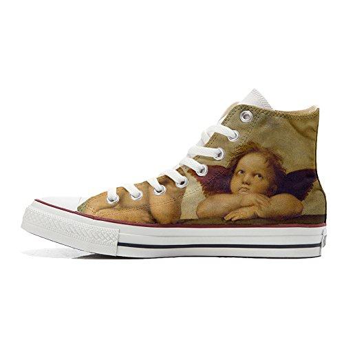Customized Personnalisé Unisex Imprimés Mys Converse Et Handmade Michelangelo produit Chaussures 5OnwqB1q