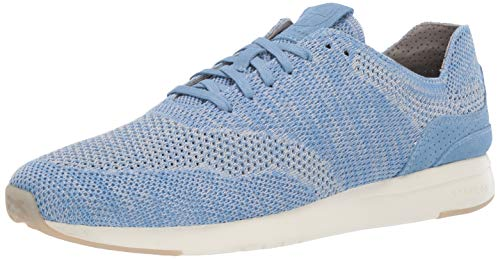 Lightweight Suede Sneakers - Cole Haan Men's Grandpro Runner Stitchlite Sneaker Zen Blue Heathered/Navy Ink Suede 9 M US