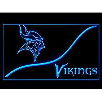 Amazon.com: Minnesota Vikings Cool Led Light Sign: Home ...