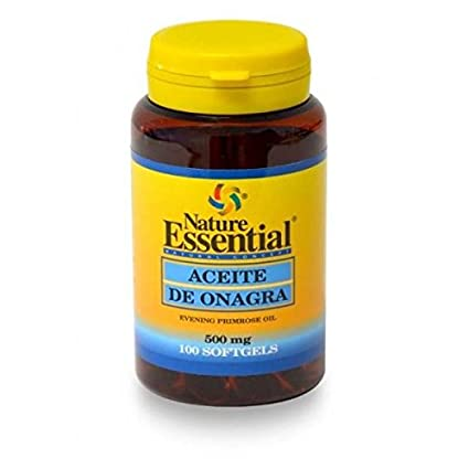 Aceite de onagra 500 mg. (10% gla) 100 perlas con vitamina E