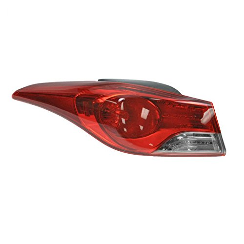 Taillight Outer Brake Light Driver Side Left LH for 11-13 Elantra Sedan US Built