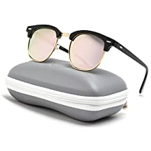 Classic Half Frame Polarized Sunglasses