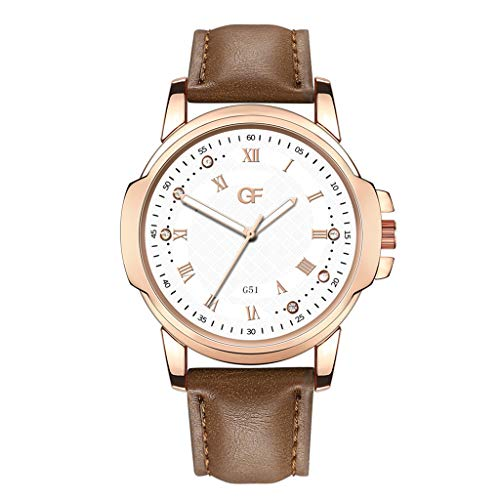 Hot Man Leather Watch Whatever Late Anyway Letter Watches New Pointer Glow
