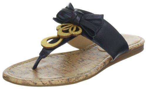 Via Uno Leather Casein 21110610, Chaussons femme Noir Black
