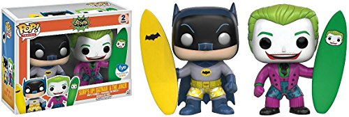 Funko POP Heroes: Batman & Joker – Surfs Up 2 Pack – FYE