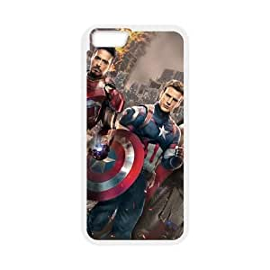 Captain America iPhone 6 Plus 5.5 Inch Cell Phone Case White Exquisite gift (SA_432880)