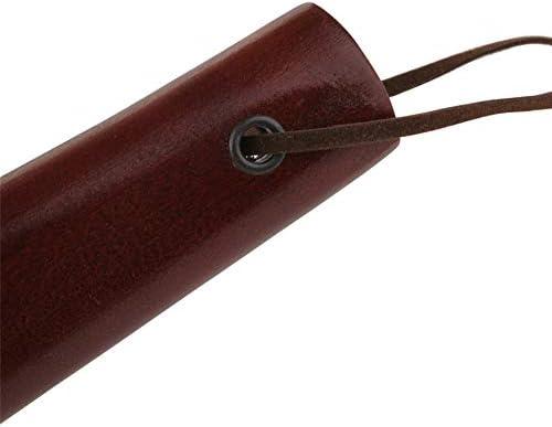 靴ホーン マホガニーの靴ホーン木製絶妙のための大人の男性と女性は適し 自宅でのささやかな贈り物 (色 : Multi-colored, Size : 38cm)