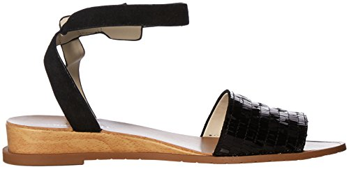 York New Ankle Flat Jinny Kenneth Strap Cole Women's Black Sandal 5SwxYPBE