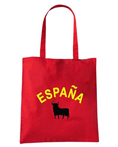 Borsa Speed WC0108 SPAIN Shopper Rossa Shirt SPAGNA ESPANA 54PUzfx