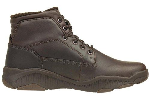 Skechers Ridge Fowler Herren Stiefel Outdoor Schuhe Leder Choc Choc