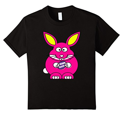 [Kids Group Family Photo Pink Easter Bunny Shirt Happy Easter 4 Black] (Social Media Sites Costumes)