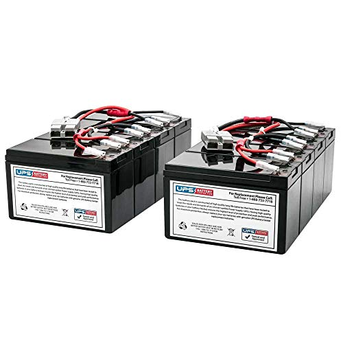 New Battery Set for APC Smart-UPS 3000VA RackMount 3U SU3000RM3U Compatible Replacement by UPSBatteryCenter