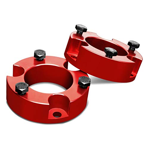 For Tacoma/FJ Cruiser Red 2.5 inches Front Spacers Suspension Leveling Lift Kit