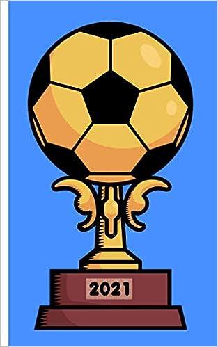 Calendrier 2021   Coupe de football à motif: Calendrier pour l