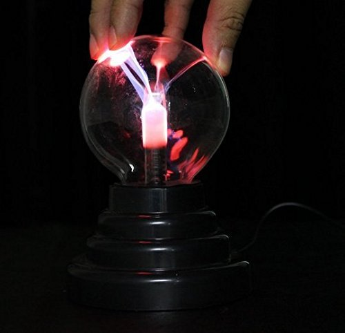 USB Plasma Ball Sphere Lightning Light Magic Crystal Lamp Gl