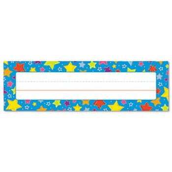 Carson-Dellosa - Nameplate,Stars,36/St