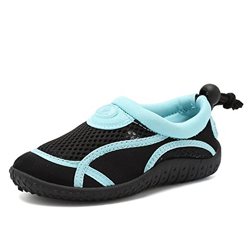 Toddler Water Aqua Shoes Swimming Pool Beach Sports Quick Drying Athletic Shoes for Girls and Boys,U118SHSX004,Royal Blue24